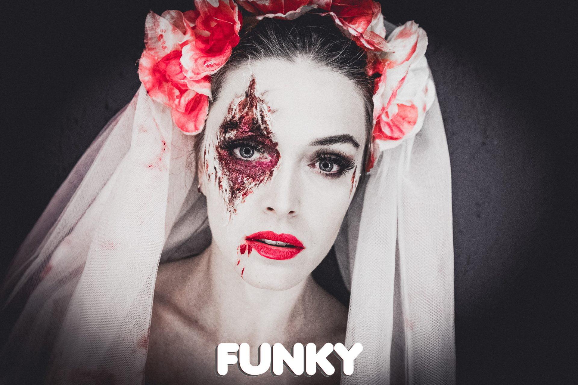 Halloween tijdens Funky in Red&blue Antwerpen