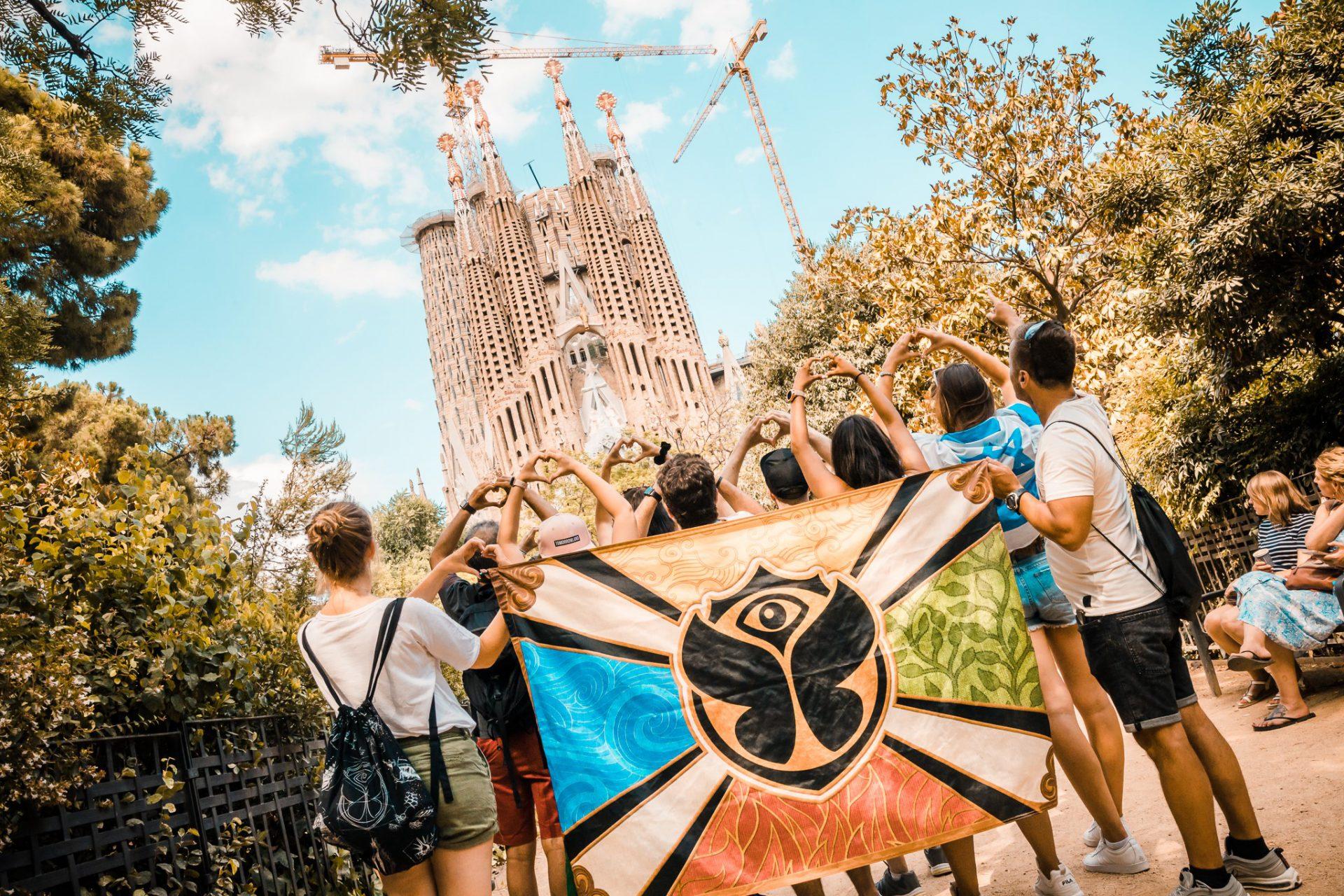 Sagrada Familia in Barcelona - Discover Europe by Tomorrowland